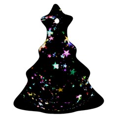 Star Ball About Pile Christmas Christmas Tree Ornament (two Sides)