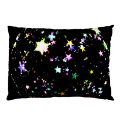 Star Ball About Pile Christmas Pillow Case (Two Sides)