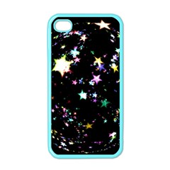 Star Ball About Pile Christmas Apple iPhone 4 Case (Color)