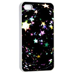 Star Ball About Pile Christmas Apple iPhone 4/4s Seamless Case (White)