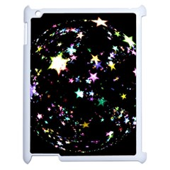 Star Ball About Pile Christmas Apple iPad 2 Case (White)