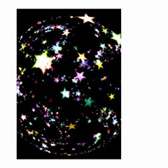 Star Ball About Pile Christmas Small Garden Flag (Two Sides)