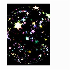 Star Ball About Pile Christmas Large Garden Flag (Two Sides)