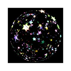Star Ball About Pile Christmas Acrylic Tangram Puzzle (6  x 6 )