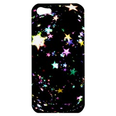 Star Ball About Pile Christmas Apple iPhone 5 Hardshell Case