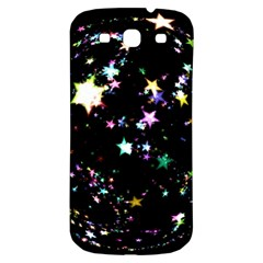 Star Ball About Pile Christmas Samsung Galaxy S3 S III Classic Hardshell Back Case