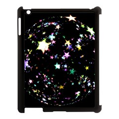 Star Ball About Pile Christmas Apple iPad 3/4 Case (Black)