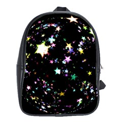 Star Ball About Pile Christmas School Bags (XL)