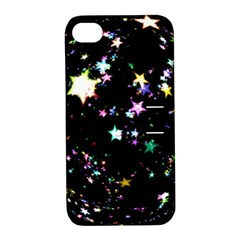 Star Ball About Pile Christmas Apple iPhone 4/4S Hardshell Case with Stand