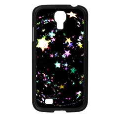 Star Ball About Pile Christmas Samsung Galaxy S4 I9500/ I9505 Case (black)