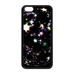 Star Ball About Pile Christmas Apple iPhone 5C Seamless Case (Black)
