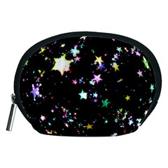 Star Ball About Pile Christmas Accessory Pouches (Medium)