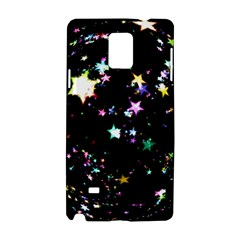 Star Ball About Pile Christmas Samsung Galaxy Note 4 Hardshell Case