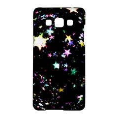 Star Ball About Pile Christmas Samsung Galaxy A5 Hardshell Case