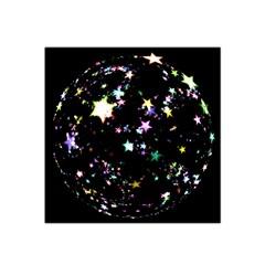 Star Ball About Pile Christmas Satin Bandana Scarf