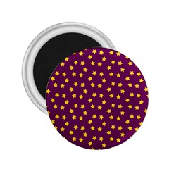 Star Christmas Red Yellow 2.25  Magnets