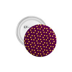 Star Christmas Red Yellow 1.75  Buttons