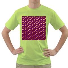 Star Christmas Red Yellow Green T-Shirt