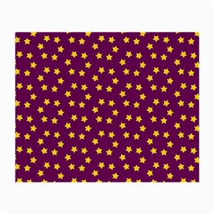 Star Christmas Red Yellow Small Glasses Cloth