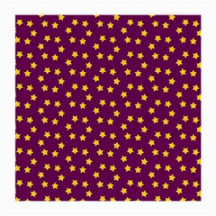 Star Christmas Red Yellow Medium Glasses Cloth