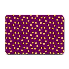 Star Christmas Red Yellow Small Doormat