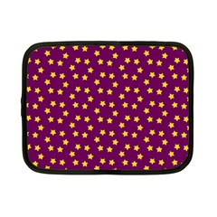 Star Christmas Red Yellow Netbook Case (Small)