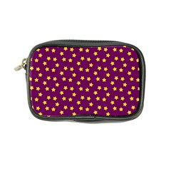 Star Christmas Red Yellow Coin Purse