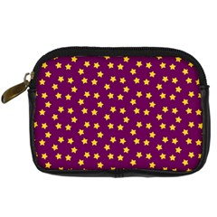 Star Christmas Red Yellow Digital Camera Cases