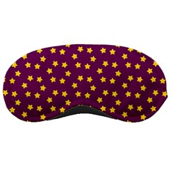 Star Christmas Red Yellow Sleeping Masks