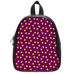 Star Christmas Red Yellow School Bags (Small)