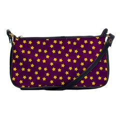 Star Christmas Red Yellow Shoulder Clutch Bags