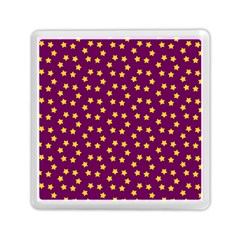 Star Christmas Red Yellow Memory Card Reader (Square)