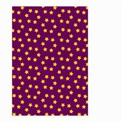 Star Christmas Red Yellow Small Garden Flag (Two Sides)