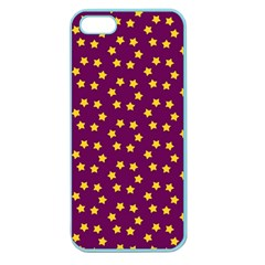 Star Christmas Red Yellow Apple Seamless iPhone 5 Case (Color)