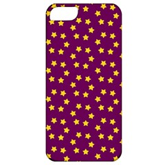 Star Christmas Red Yellow Apple iPhone 5 Classic Hardshell Case