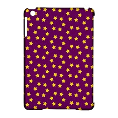 Star Christmas Red Yellow Apple iPad Mini Hardshell Case (Compatible with Smart Cover)