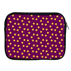 Star Christmas Red Yellow Apple iPad 2/3/4 Zipper Cases