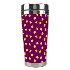 Star Christmas Red Yellow Stainless Steel Travel Tumblers