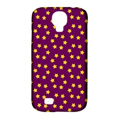 Star Christmas Red Yellow Samsung Galaxy S4 Classic Hardshell Case (PC+Silicone)