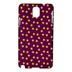 Star Christmas Red Yellow Samsung Galaxy Note 3 N9005 Hardshell Case
