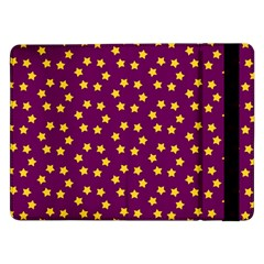 Star Christmas Red Yellow Samsung Galaxy Tab Pro 12.2  Flip Case