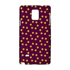 Star Christmas Red Yellow Samsung Galaxy Note 4 Hardshell Case