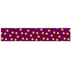 Star Christmas Red Yellow Flano Scarf (large)