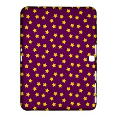 Star Christmas Red Yellow Samsung Galaxy Tab 4 (10 1 ) Hardshell Case