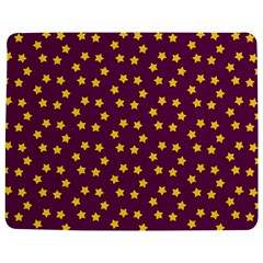 Star Christmas Red Yellow Jigsaw Puzzle Photo Stand (Rectangular)