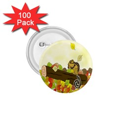 Squirrel 1.75  Buttons (100 pack)