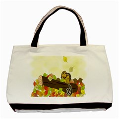 Squirrel Basic Tote Bag (Two Sides)