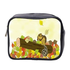 Squirrel Mini Toiletries Bag 2 Side