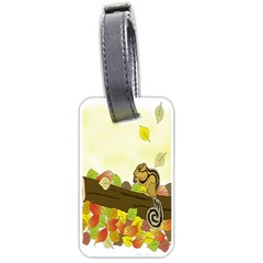 Squirrel Luggage Tags (One Side)