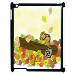 Squirrel Apple iPad 2 Case (Black)
